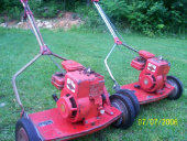 even mowers like this are accepted, for a small fee. Click here to request a pick-up appointment.