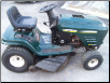 web site specials, used lawn mowers, riding mowers and more