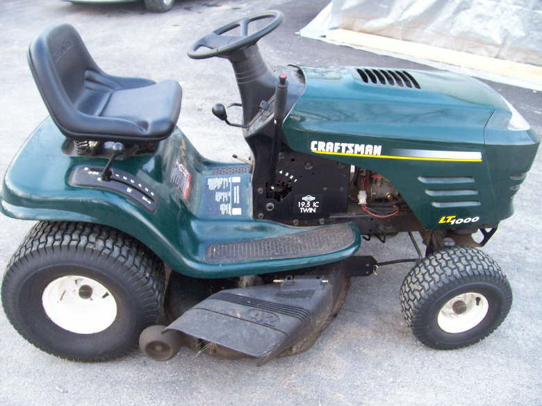 Riding Mower Removal Mower Recycling Salvage Riders